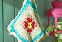 crochet and knitting patterns, tutorials, inspiration and ideas / There is something so soothing about needlework.  Taking a ball of yarn and working with your hands to create something beautiful, full of texture and color, it's one of my favorite things to do.  Here you'll find pins of free patterns for crochet and knitting as well as tutorials, ideas and inspiration.
