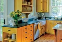 love these kitchens / by bridget edwards {bake at 350}