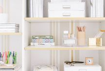 Organization / I dearly love to be organized, but it doesn't come naturally.  I need all the help I can get.