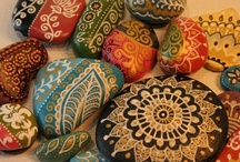 Painted Rocks / by Julie Richardson