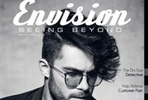 Envision: seeing beyond magazine / Canada's premier optical industry magazine for all eyecare professionals.