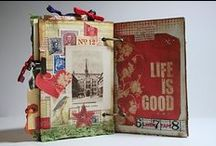 Art journal/mixed media/collage / by Kim Riggs
