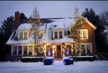 Holiday Lights & Decor | Landscaping / Tis the season to be bright!