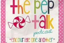 the pep talk podcast