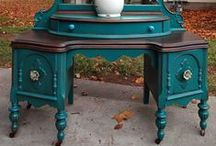 Rejuvenate! / tips for re-painting furniture and other re-do's
