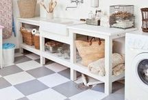 Laundry Room / Inspiration for a laundry room remodel!