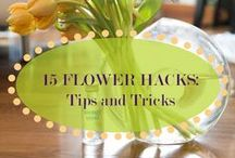 15 FLOWER HACKS: TIPS AND TRICKS / Helpful tips and tricks that will wow you ... more on our blog: http://celebrationsltd.com/15-flower-hacks-tips-and-tricks/ / by Celebrations Ltd.
