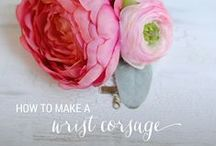DIY WRIST CORSAGE / WE'RE SHOWING YOU HOW TO MAKE YOUR OWN SIMPLE WRIST CORSAGES!  / by Celebrations Ltd.