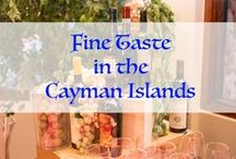 Fine Taste in the Cayman Islands /  bring the fresh luscious greenery and savory aspects of the Italian countryside to life  / by Celebrations Ltd.