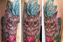 Tattoos and tattoo ideas / by Tisha Scott