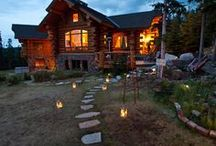 Log Cabin/Homes / by Doreen Roth Morgan