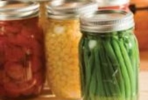 Canning, drying and preserving foods / by Carrie Johns