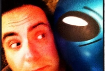 My Alien Best Friend / Blue alien came to us from another world. He is my best friend!