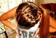 Hair Styles / hair styles for game night, practice & competition