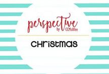 PERSPECTIVE: Christmas / This is an archive of my Christmas Projects and Décor from my blog CCMcAfeePerspective.com