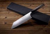 Kotetsu's Iron Clad range / The Iron Clad range of Japanese knives.