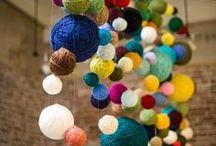 yarn and felt / things made with yarn and felt