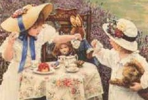 TEA TIME N POETRY / Tea Time, Tea Parties, Tea Pots, cups and saucers, Tarts, cookies, pies, cakes and scrones.   / by Marlene Faye