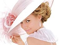HAT LADIES  / Ladies in hats or ribbons and bows...ladies that love to be proper and poised....Hat Ladies  / by Marlene Faye