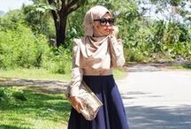 Hijab/Tznius Dress / Not Muslim or Jewish, but I love the more conservative dress styles.