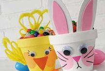 Easter / Easter goodies, arts and crafts. / by Poochie Baby