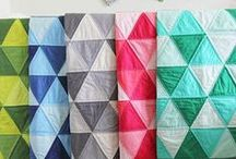 Quilting is my favorite / Inspirational quilts and handy quilting techniques.  Modern quilting, bright colors and solids make my heart happy :)