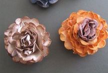 FLOWERS - Paper / All kinds of handmade paper flowers