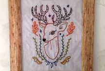 Embroidery.  / Stuff I have embroidered.  / by ange zenren