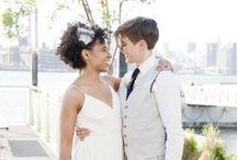 Lesbian Weddings / For teh cute