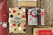 Gift wrapping / by Lisa Reiter