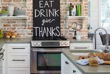 """My """"Now"""" Kitchen / Ideas for decorating and things I want for my current (one-butt) kitchen."""