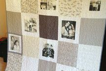 Photo Memory Quilt / Fabrics and ideas for this project