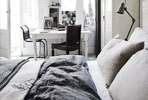 Organic Modern Bedroom Style / While my rustic bedroom style still stands, my fiancee is more into cleanliness and simplicity when it comes to decor. This is our dream bedroom.