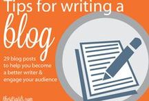 Blogging / Blogging and working from home tips and tricks.
