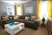 Brown couch colour combo ideas