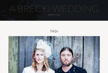 Wedsites 101 / All the fun of wedding websites without all the stress of having to figure out how to set one up.