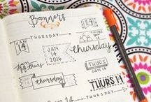 Journaling / Bullet journaling? Gratitude journaling? Personal journaling? Making your planner pretty AND organized? Tips, tricks, and doodles here.