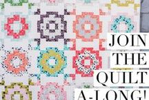 City Tiles Quilt Along / Join the City Tiles Quilt Along!  Starts January 15th, 2018.