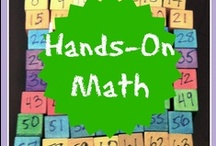 Hands-On Math / Step out of the workbooks and textbooks and into a world of math manipulatives, whole body learning, math crafts, activities and more! For our preschool to high school learners. (Pinners: Please pin from your own blog; no pins of items for sale. Thank you.) This board is not currently accepting new pinners.   / by Julie Kirkwood, Creekside Learning