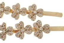 A TOUCH OF SPARKLE / All the pretty sparkly things we love, hair accessories especially!