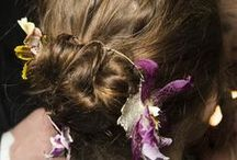 "WEDDING INSPIRATION / Wedding hair and hair accessory inspiration. Say ""I do"" in style."