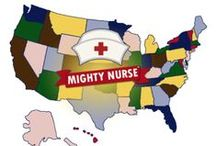 Nurse Stories / #MightyNurse #Cartoon #Series #Nursing #Animation #RN #LPN #CNA #Nurses / by Mighty Nurse