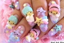 Look at mah nails! :) / Nails!Nails!Nails! / by Queen Lila