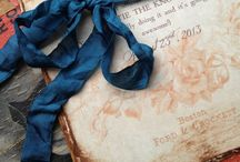 Wedding Colours: Navy Blue and Rose / Navy blue and rose wedding colour scheme