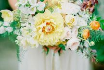 Wedding Colours: Green and Yellow / Green and yellow wedding ideas