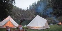 Wedding Themes: Camping / Ideas for a camping, festival or glamping wedding