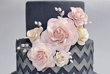 Inspiration - Wedding Cakes / Cakes I love and have collected from around the internet - plenty of inspiration and ideas... many different themes, designs, sizes and colours... so many possibilities!