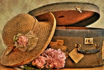 my trunks & suitcases / by Earlene Bauer