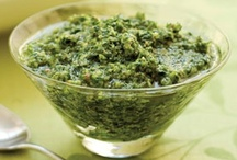 KW - Pesto / Fresh Pesto recipes using a variety of ingredients / by Kitchen Window