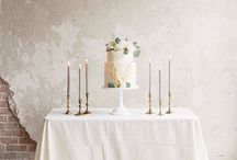Wedding Ideas: Cakes / Some of our favourite ideas for wedding cakes